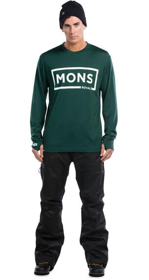 Mons Royale M's Original LS Green